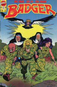 Cover Thumbnail for The Badger (First, 1985 series) #47