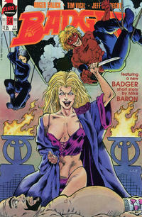Cover Thumbnail for The Badger (First, 1985 series) #54