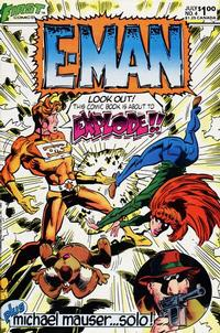Cover Thumbnail for E-Man (First, 1983 series) #4