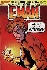 Cover Thumbnail for E-Man (First, 1983 series) #6