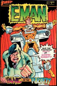 Cover for E-Man (First, 1983 series) #7