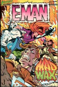Cover Thumbnail for E-Man (First, 1983 series) #8