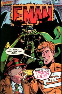 Cover Thumbnail for E-Man (First, 1983 series) #9