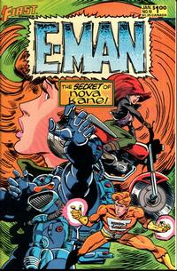 Cover Thumbnail for E-Man (First, 1983 series) #10