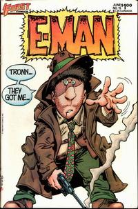 Cover Thumbnail for E-Man (First, 1983 series) #15