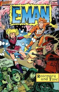 Cover Thumbnail for E-Man (First, 1983 series) #18