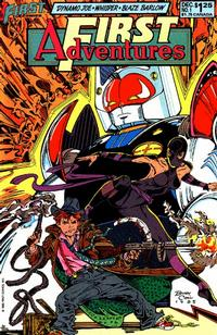Cover Thumbnail for First Adventures (First, 1985 series) #1
