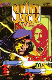 Cover Thumbnail for Grimjack (First, 1984 series) #4