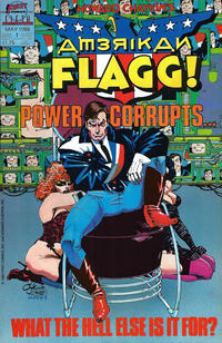 Cover Thumbnail for Howard Chaykin's American Flagg (First, 1988 series) #1