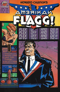 Cover Thumbnail for Howard Chaykin's American Flagg (First, 1988 series) #2