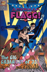 Cover Thumbnail for Howard Chaykin's American Flagg (First, 1988 series) #4