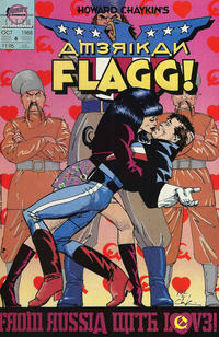 Cover Thumbnail for Howard Chaykin's American Flagg (First, 1988 series) #6