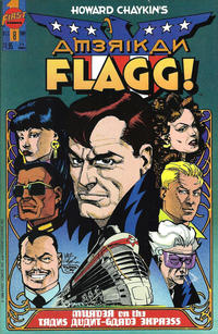 Cover Thumbnail for Howard Chaykin's American Flagg (First, 1988 series) #8