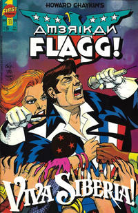 Cover Thumbnail for Howard Chaykin's American Flagg (First, 1988 series) #11