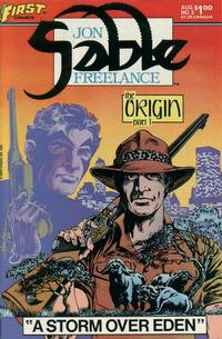 Cover Thumbnail for Jon Sable, Freelance (First, 1983 series) #3