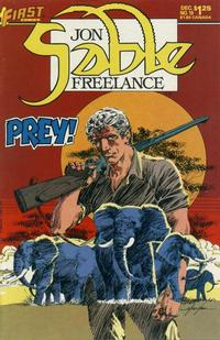 Cover Thumbnail for Jon Sable, Freelance (First, 1983 series) #19