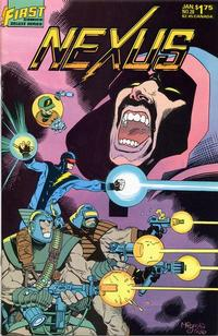 Cover Thumbnail for Nexus (First, 1985 series) #28