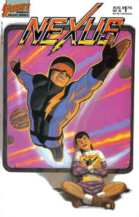 Cover Thumbnail for Nexus (First, 1985 series) #35