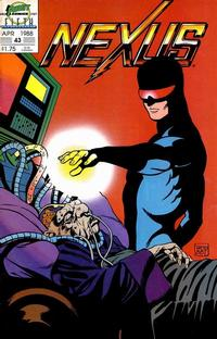 Cover Thumbnail for Nexus (First, 1985 series) #43