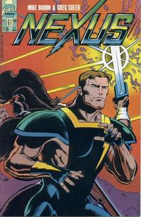 Cover Thumbnail for Nexus (First, 1985 series) #61