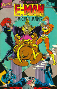 Cover Thumbnail for The Original E-Man and Michael Mauser (First, 1985 series) #3