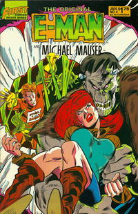 Cover Thumbnail for The Original E-Man and Michael Mauser (First, 1985 series) #4