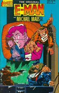 Cover Thumbnail for The Original E-Man and Michael Mauser (First, 1985 series) #5