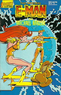 Cover Thumbnail for The Original E-Man and Michael Mauser (First, 1985 series) #6