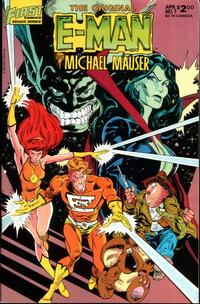 Cover Thumbnail for The Original E-Man and Michael Mauser (First, 1985 series) #7