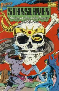 Cover Thumbnail for Starslayer (First, 1983 series) #34