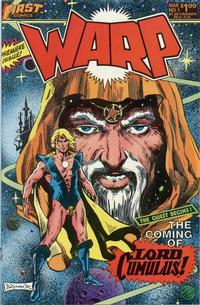 Cover Thumbnail for Warp (First, 1983 series) #1