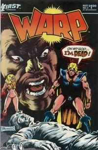 Cover Thumbnail for Warp (First, 1983 series) #3