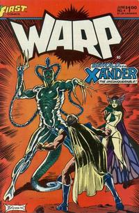 Cover Thumbnail for Warp (First, 1983 series) #4