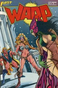 Cover Thumbnail for Warp (First, 1983 series) #5