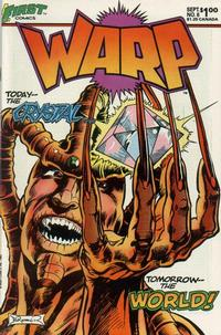 Cover Thumbnail for Warp (First, 1983 series) #6