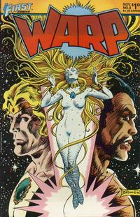 Cover Thumbnail for Warp (First, 1983 series) #8