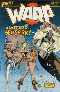 Cover Thumbnail for Warp (First, 1983 series) #10