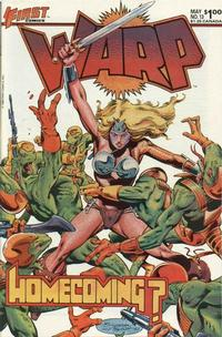 Cover Thumbnail for Warp (First, 1983 series) #13