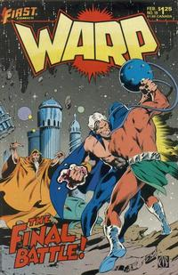 Cover Thumbnail for Warp (First, 1983 series) #19