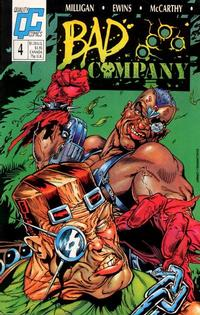 Cover Thumbnail for Bad Company (Fleetway/Quality, 1988 series) #4