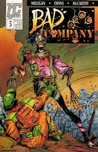 Cover Thumbnail for Bad Company (Fleetway/Quality, 1988 series) #5
