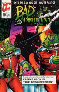 Cover Thumbnail for Bad Company (Fleetway/Quality, 1988 series) #10