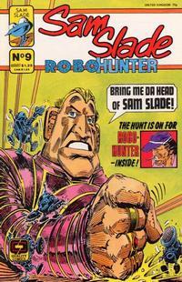 Cover Thumbnail for Sam Slade, RoboHunter (Fleetway/Quality, 1987 series) #9