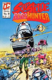 Cover Thumbnail for Sam Slade, RoboHunter (Fleetway/Quality, 1987 series) #10