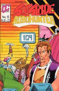 Cover Thumbnail for Sam Slade, RoboHunter (Fleetway/Quality, 1987 series) #12