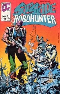 Cover Thumbnail for Sam Slade, RoboHunter (Fleetway/Quality, 1987 series) #13