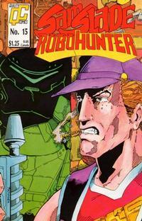 Cover Thumbnail for Sam Slade, RoboHunter (Fleetway/Quality, 1987 series) #15 [US]