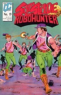 Cover Thumbnail for Sam Slade, RoboHunter (Fleetway/Quality, 1987 series) #19 [US]