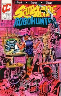 Cover Thumbnail for Sam Slade, RoboHunter (Fleetway/Quality, 1987 series) #21/22 [US]