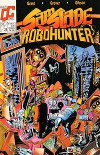 Cover Thumbnail for Sam Slade, RoboHunter (Fleetway/Quality, 1987 series) #23/24 [US]